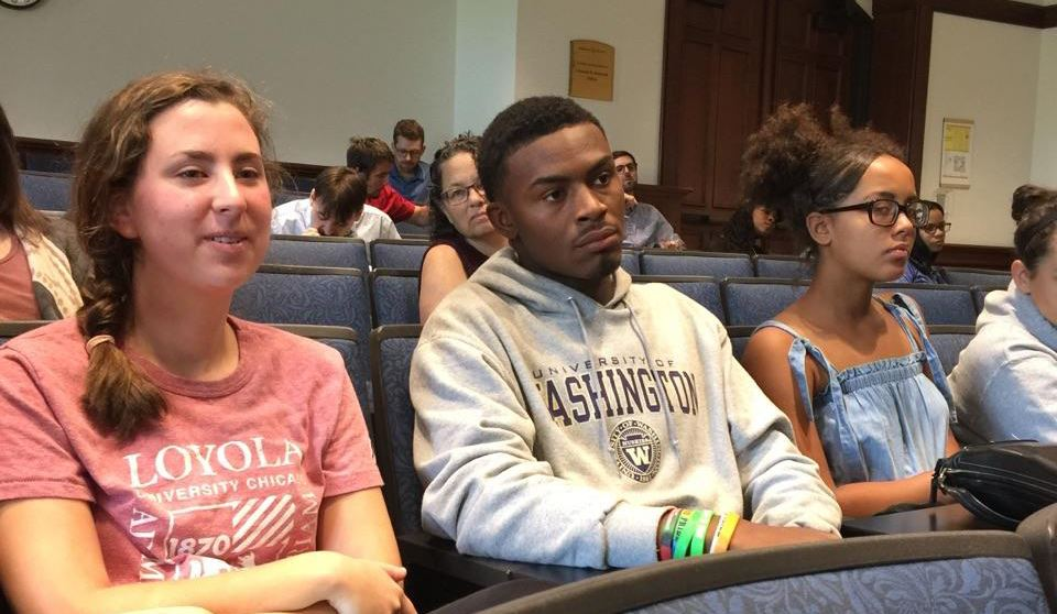UCHS Students Attend WashU Panel Discussion