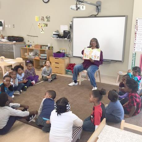 Ford-williams reads to preschoolers