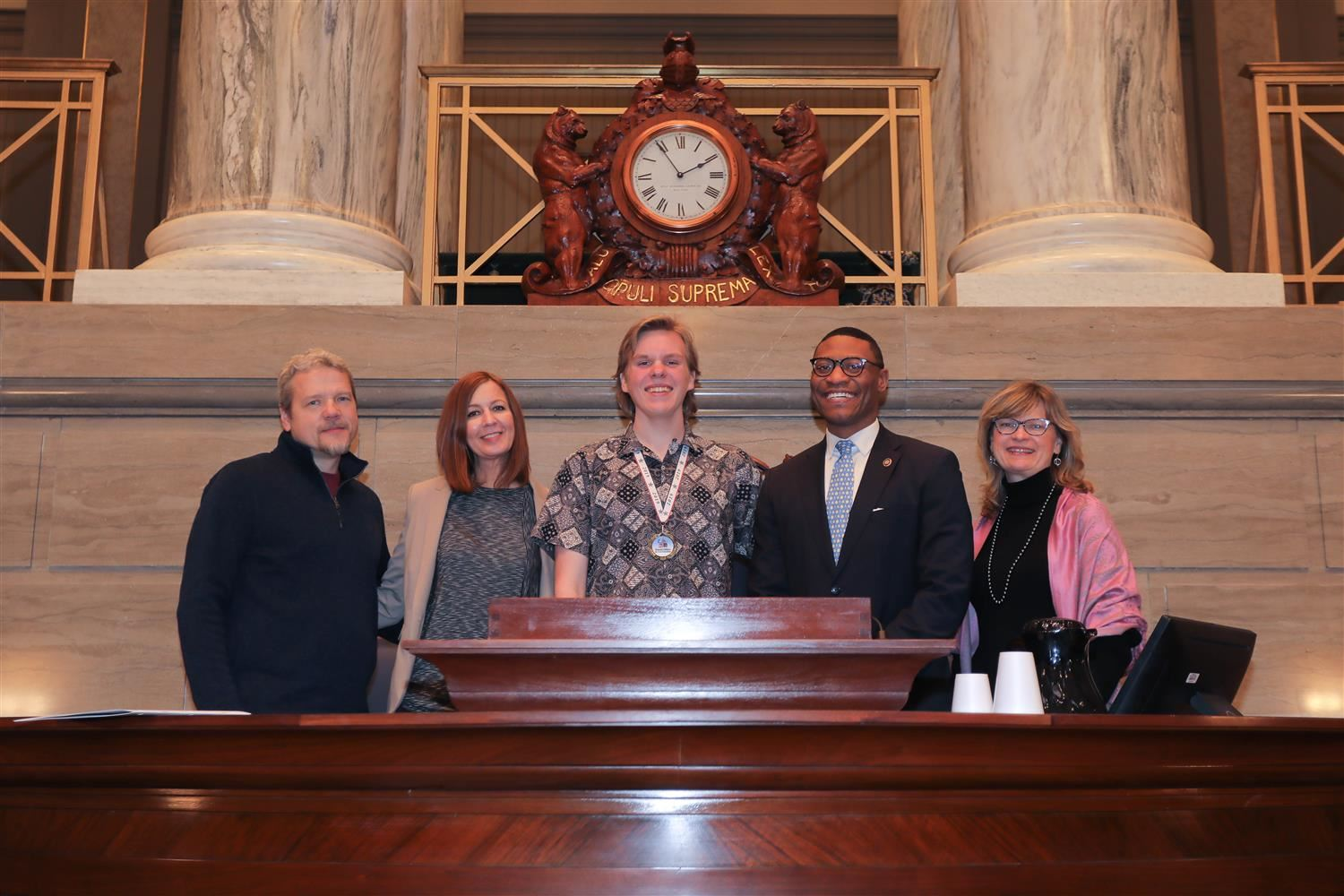 Student Artwork Chosen for State Capitol Exhibit