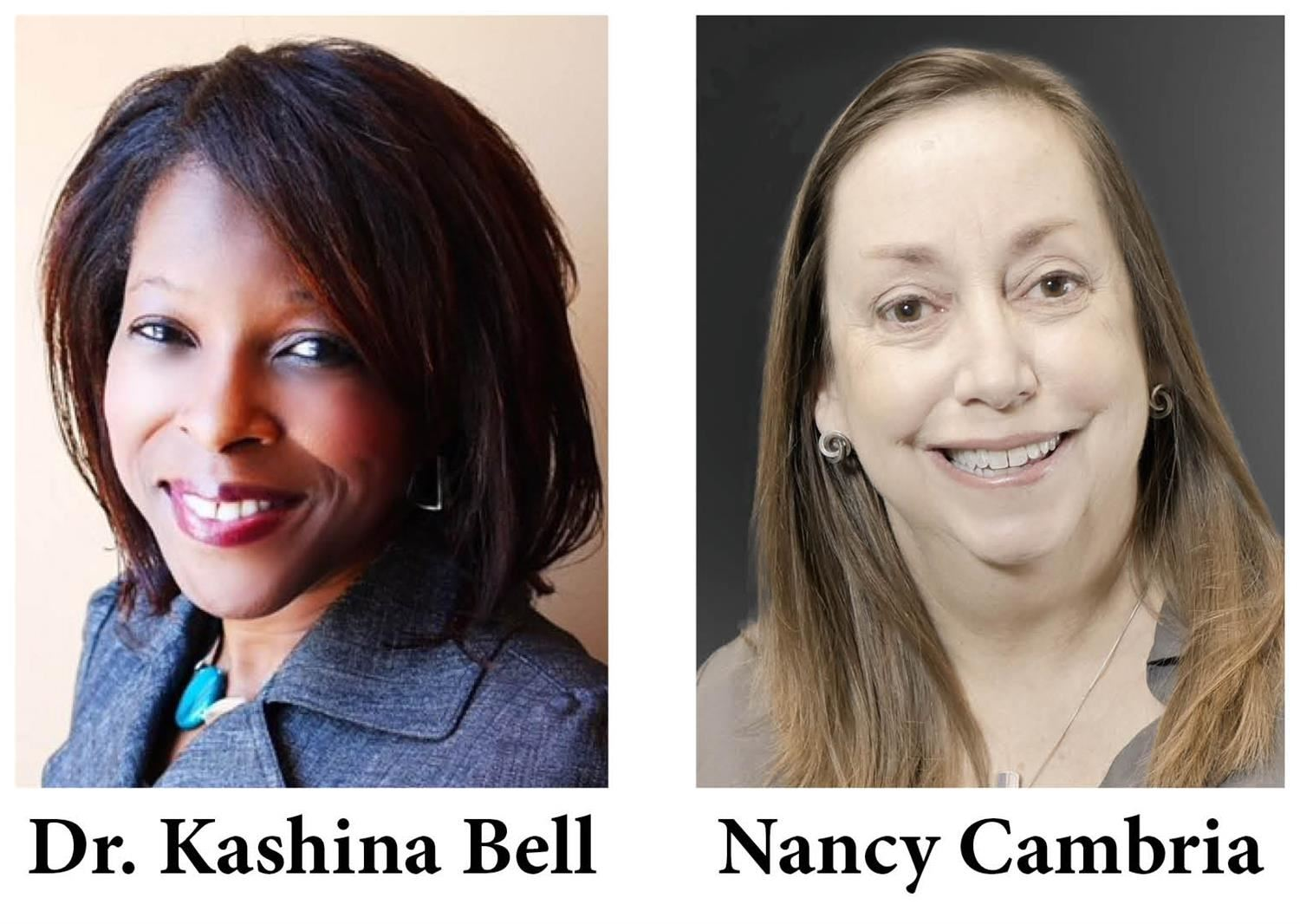 Dr. Kashina Bell & Nancy Cambria