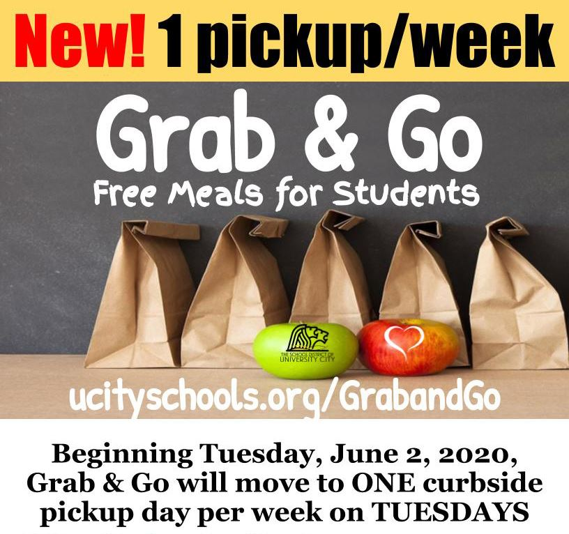 Grab & Go Update flyer top