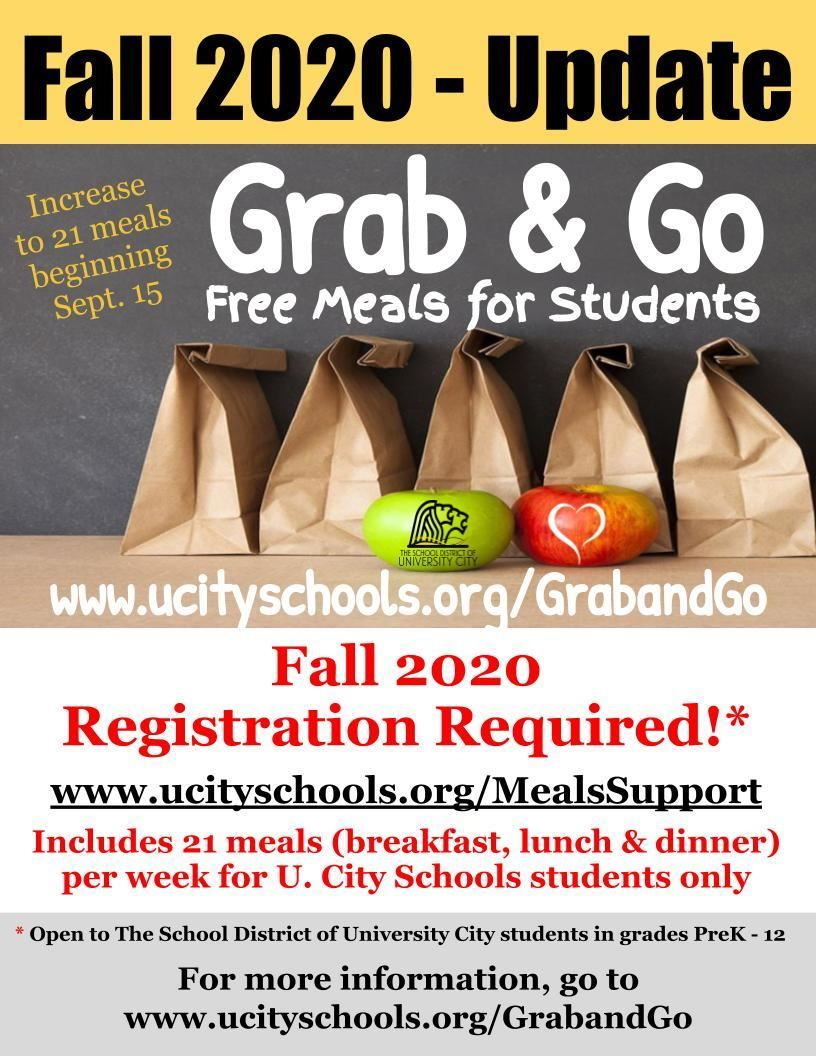 Fall 2020 Grab Go update 090920