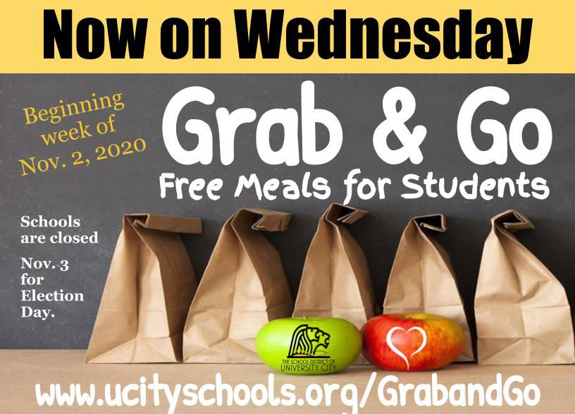 Fall 2020 Grab & Go Meal Program Updates for November and December