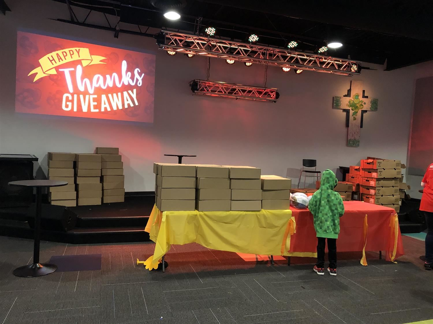 Gratitude: Local Church Donates 100 Turkey Dinners to District Families