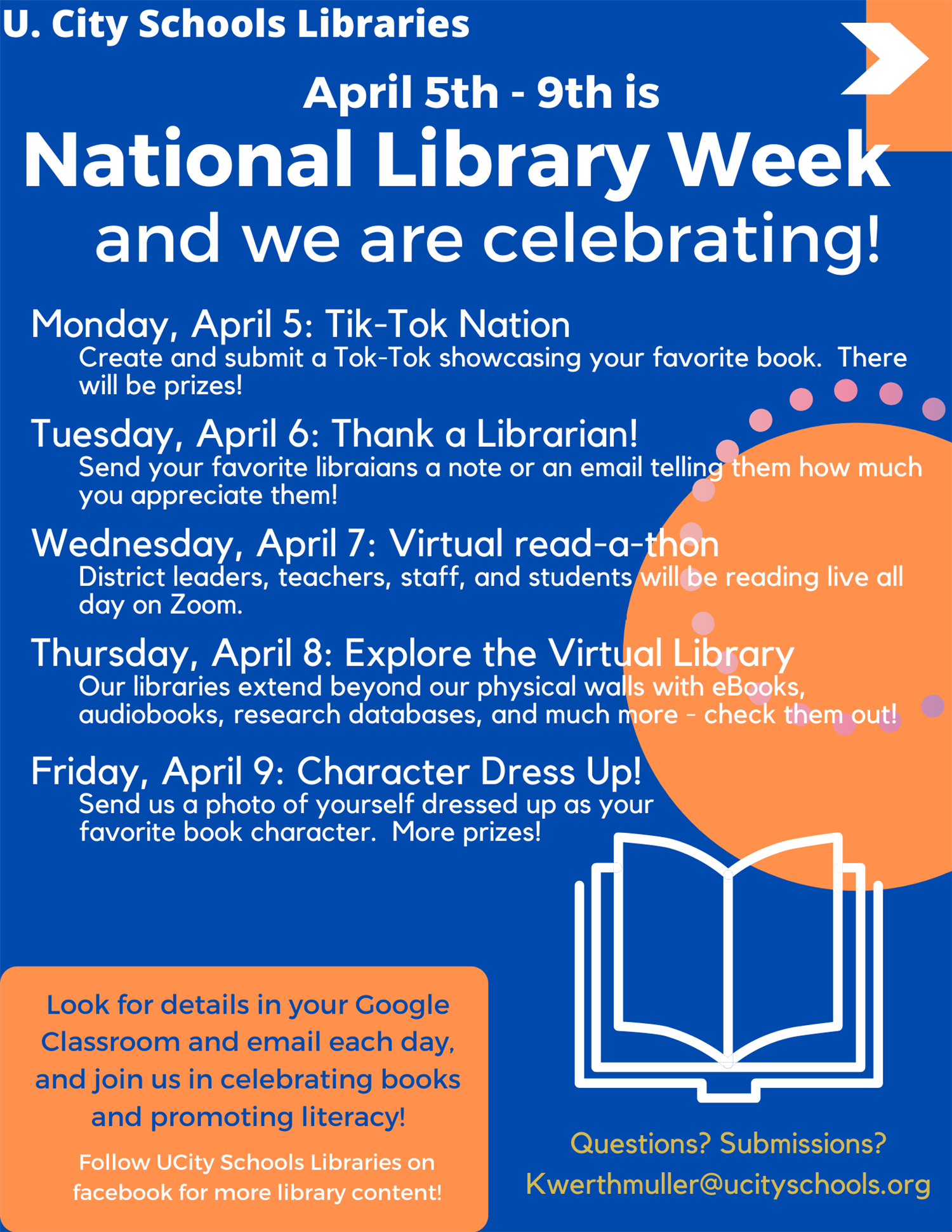 Librarians Plan a Week of Activities for National Library Week 2021