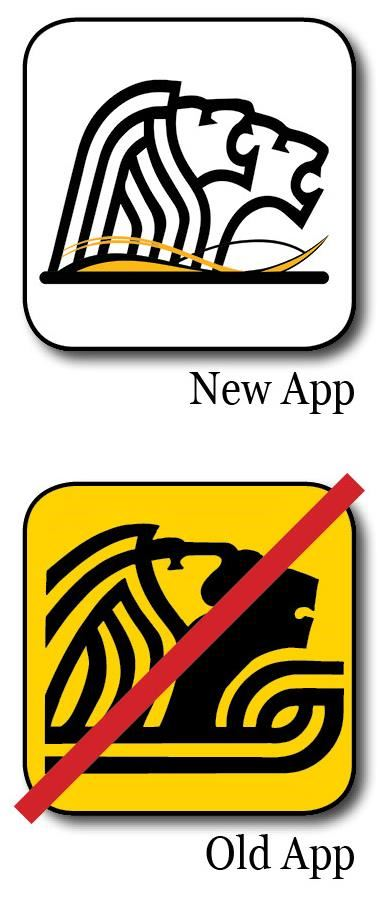 old and new appl logos