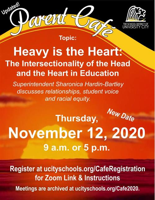 Parent Cafe  - Nov. 12, 2020