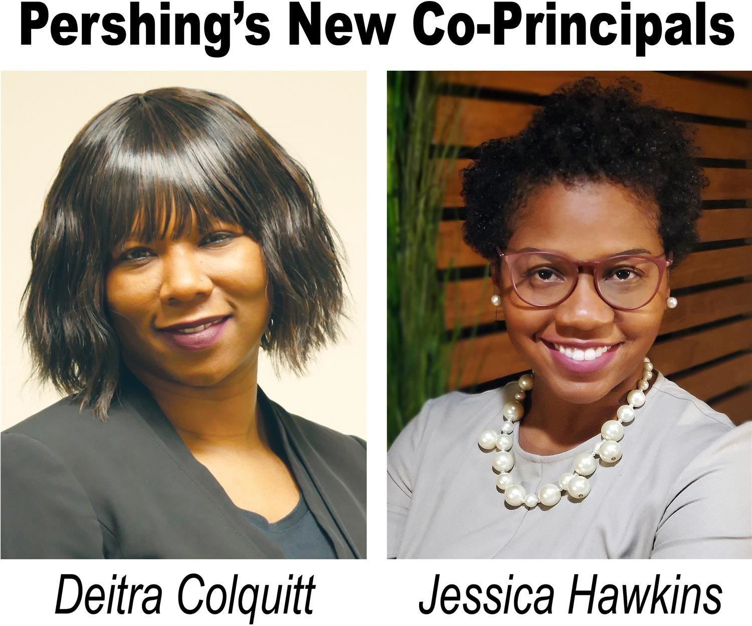 Colquitt and Hawkins Named Co-Principals of Pershing Elementary