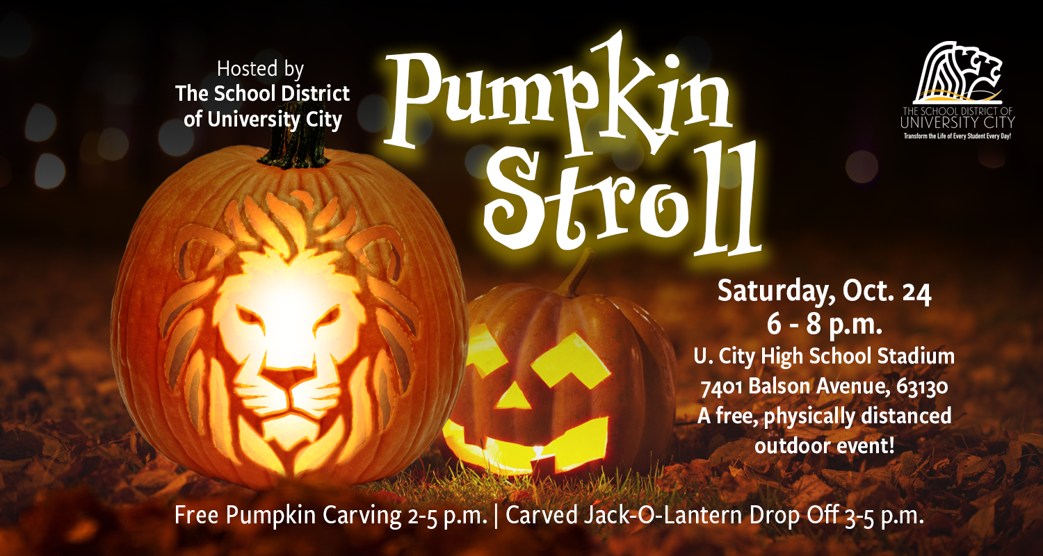 Pumpkin Stroll at UCHS Oct. 24