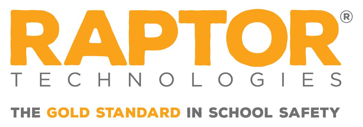 Raptor Technologies logo: The Gold Standard in School Safety