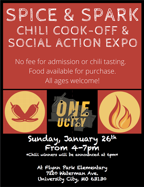 Got the Winter Blahs? Then It Is Time For Spice and Spark, the Annual Chili Cook-Off at Flynn Park on Jan. 26