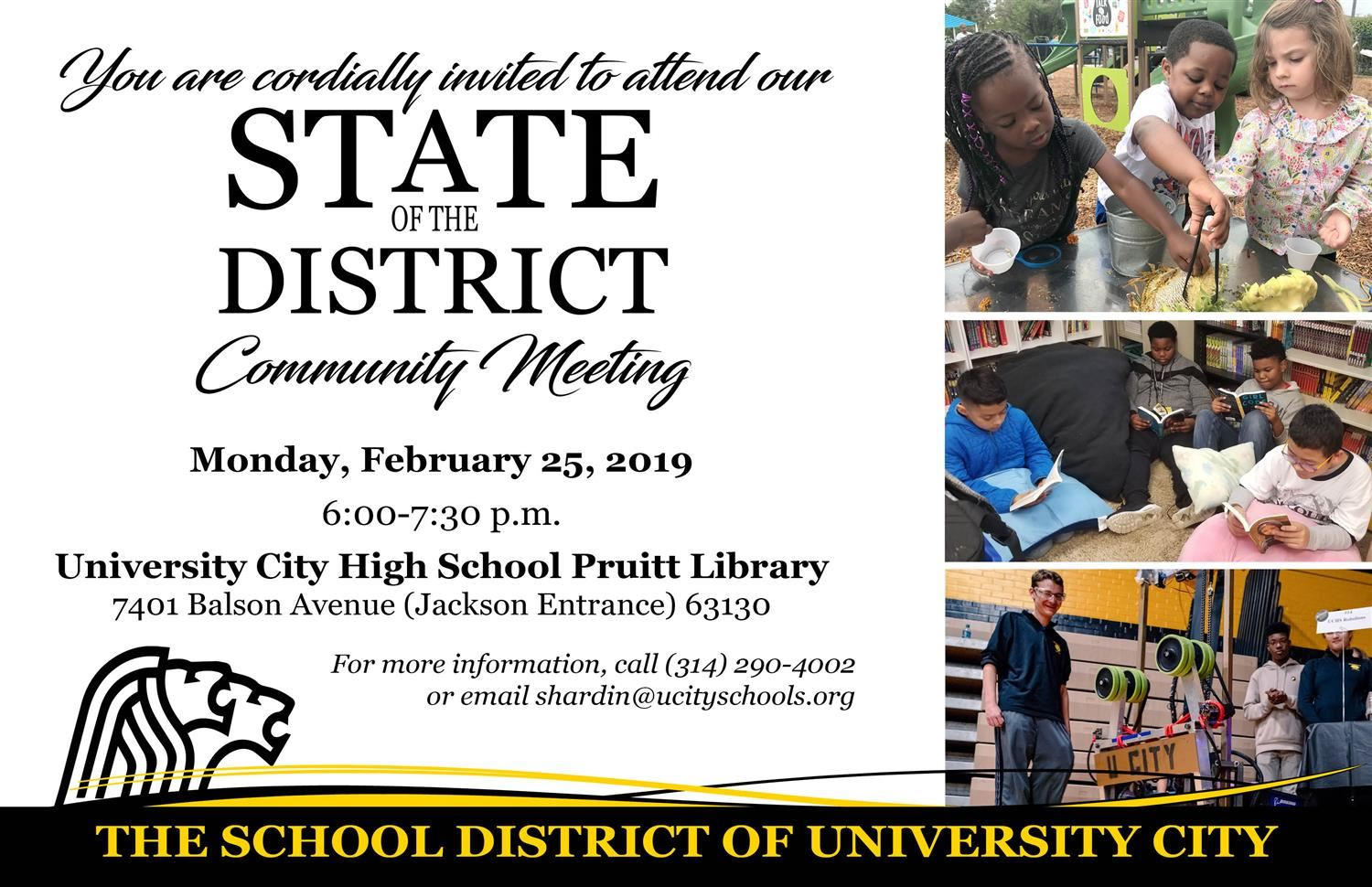 State of the District - Feb. 25, 2019