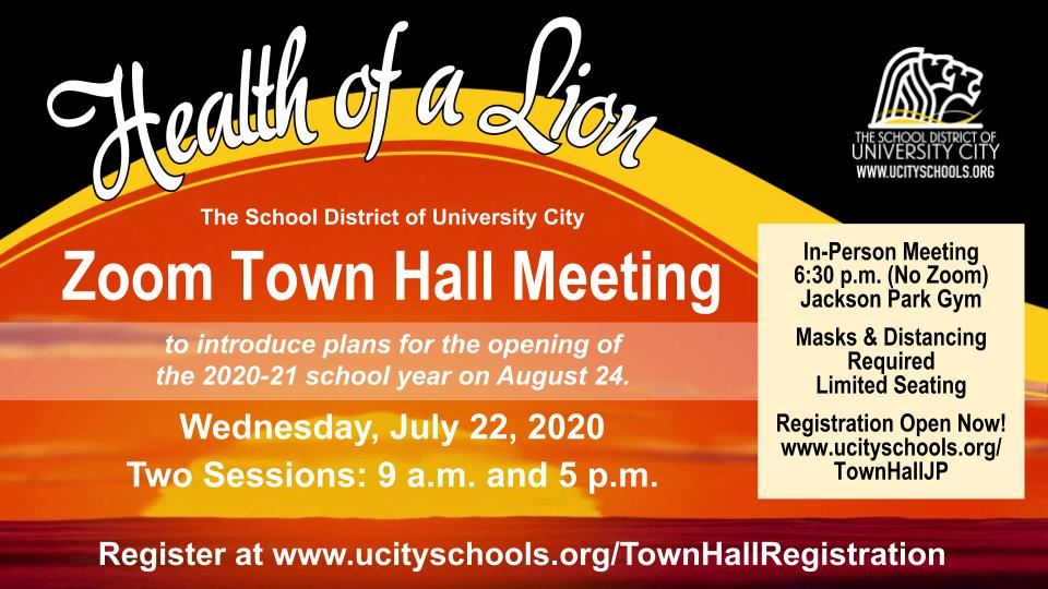 Town Hall 072220 with In Person option