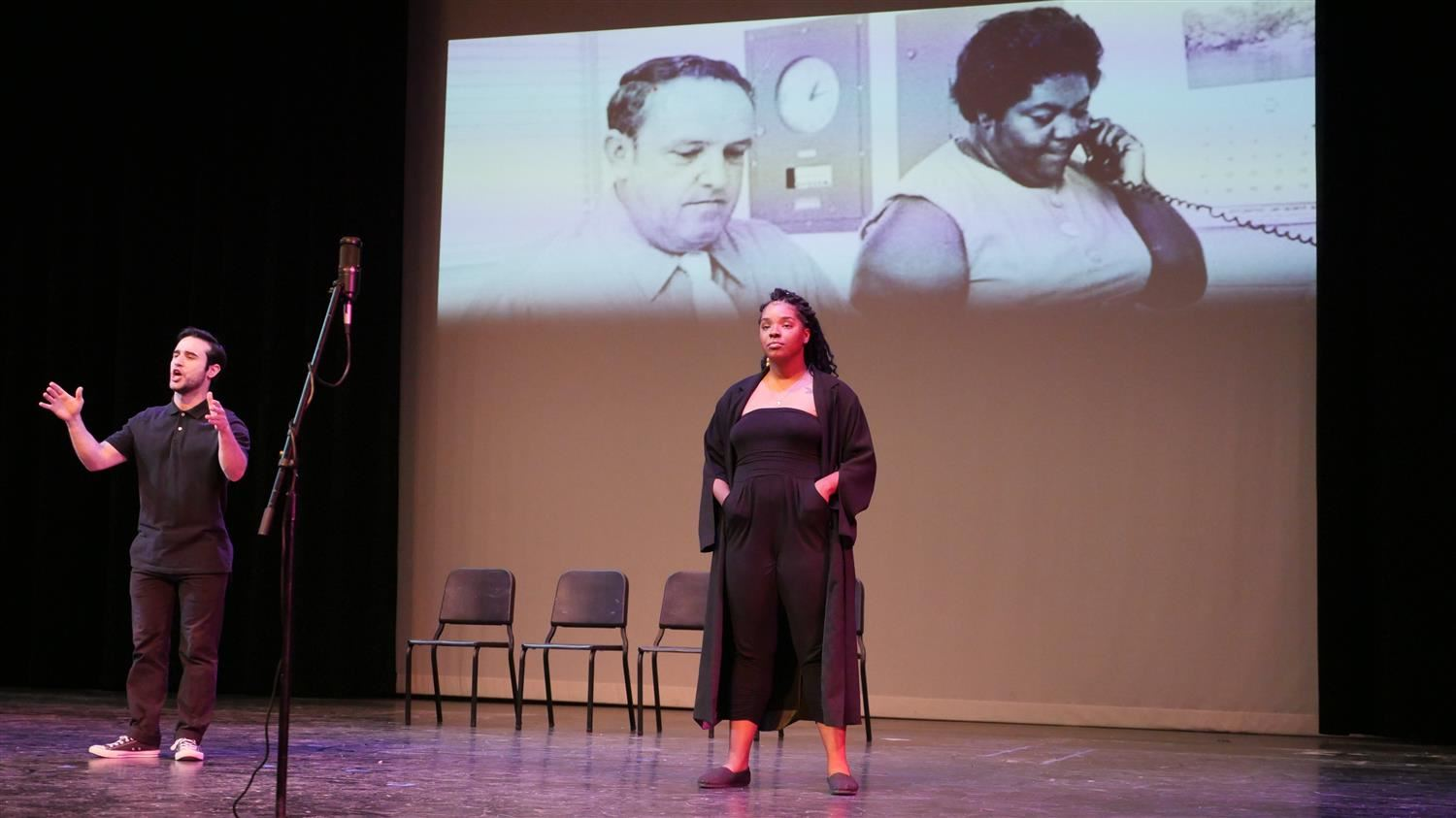 "Civic Arts Company Actors Dramatize Questions of ""Race"" at UCHS"