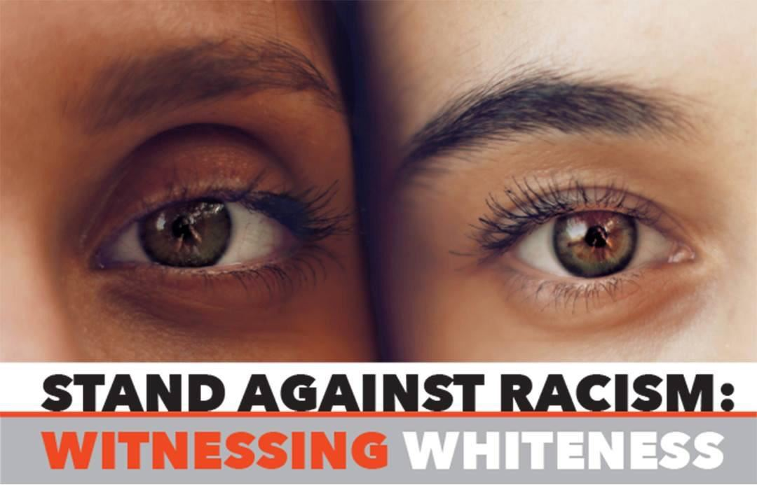 Stand agains racism eyes photo