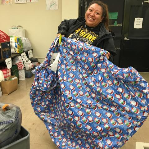 Holiday Appeal Brings Gifts, Supplies and Cheer to 100 District Families