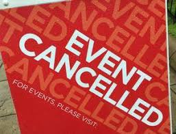 Current District Event Cancelations