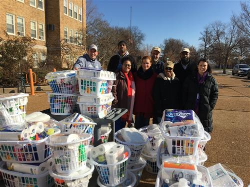 GATE Church Donations to UCity Families