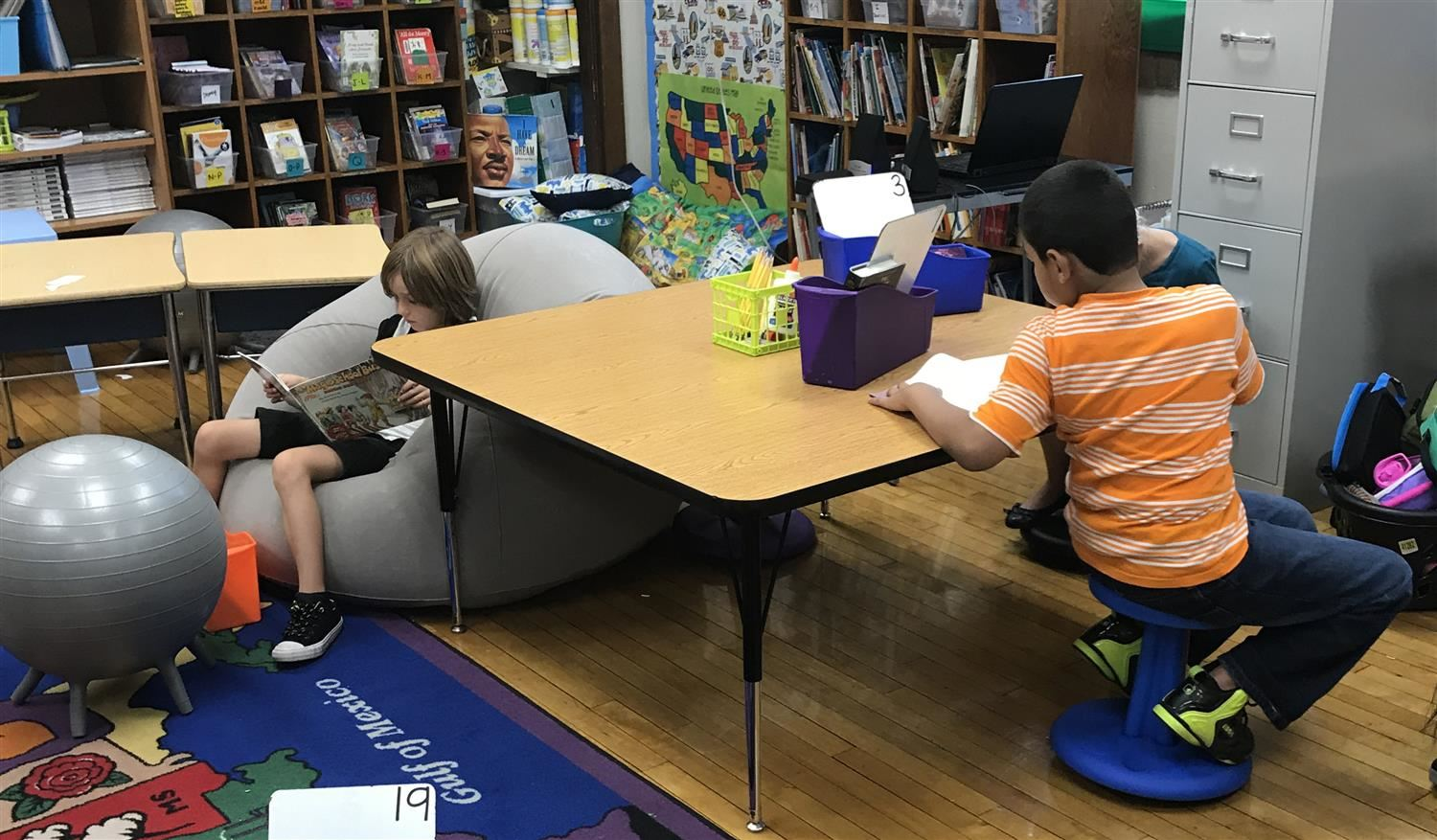 flexible seating classroom