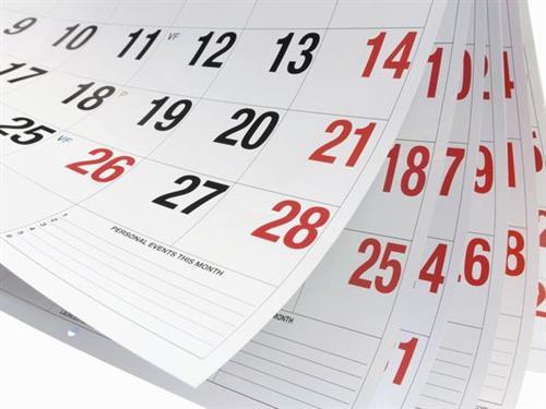 Communications / Calendars: Printable & Subscribing