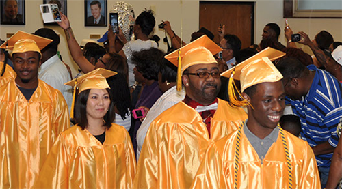 GED graduation processional
