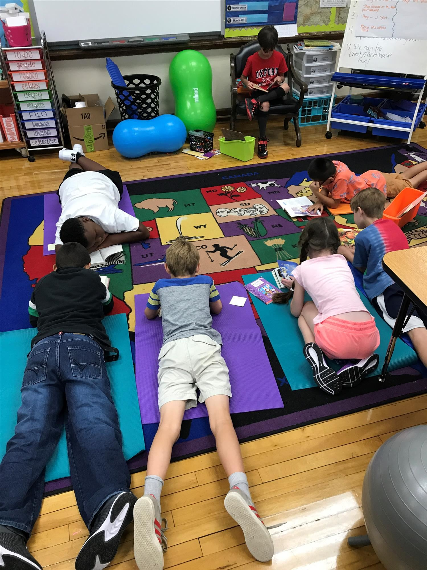 flexible seating mats