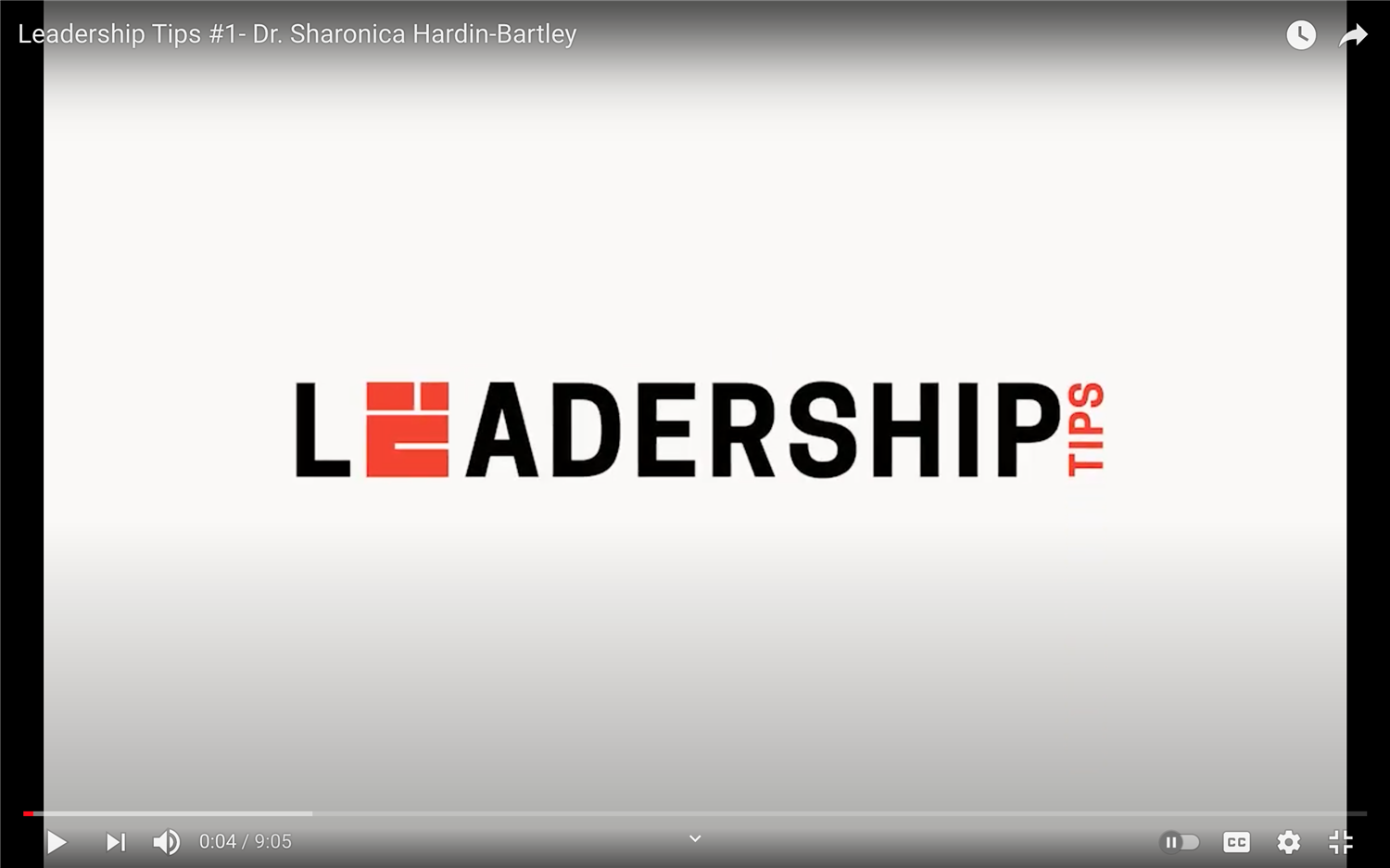 Issues in Education: Leadership Tips #1 - 011221