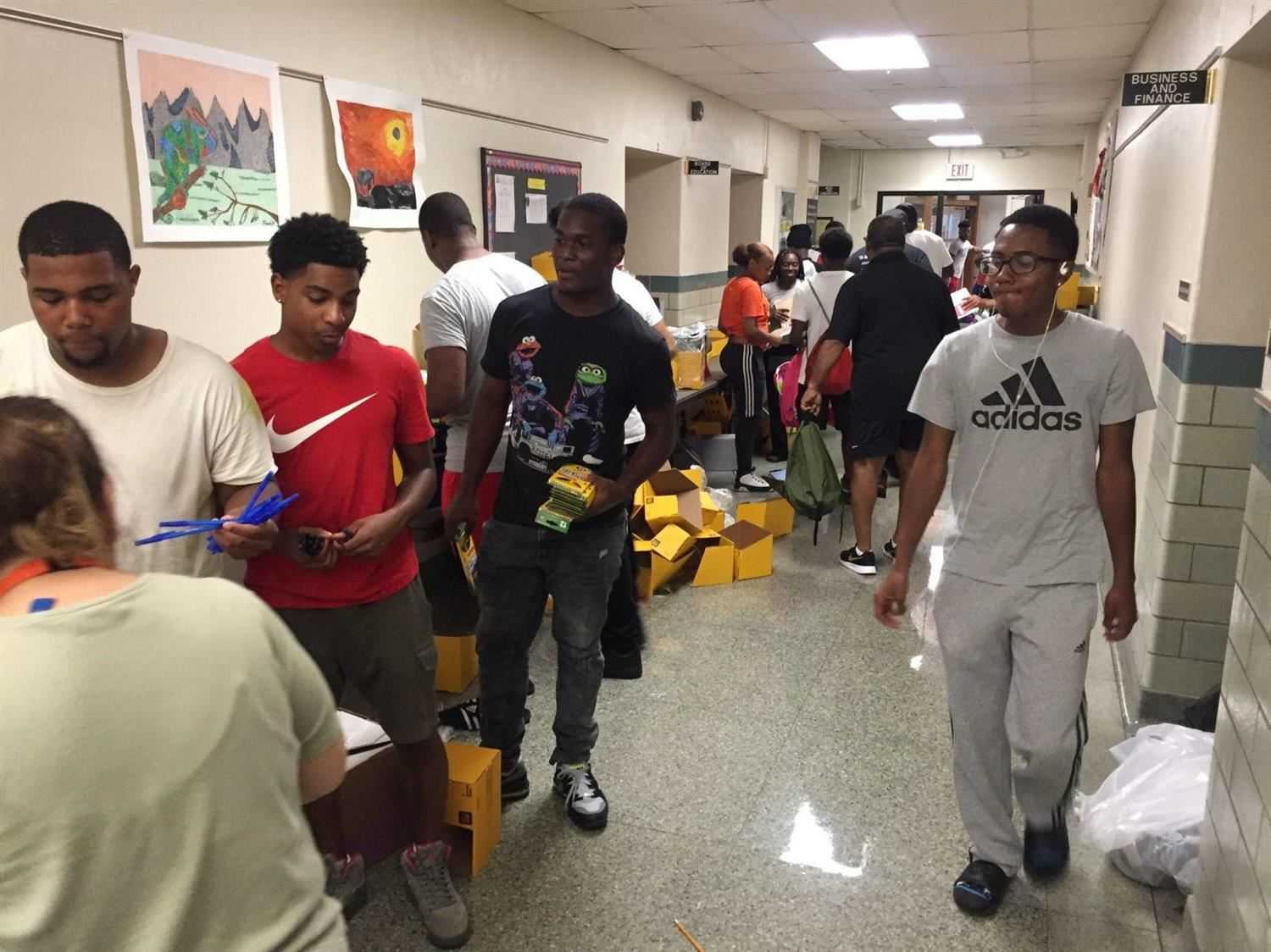 St. Louis Post Dispatch: Lake Saint Louis couple provides 750 backpacks filled with supplies for area students
