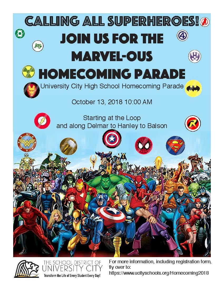 Homecoming 2018 parade