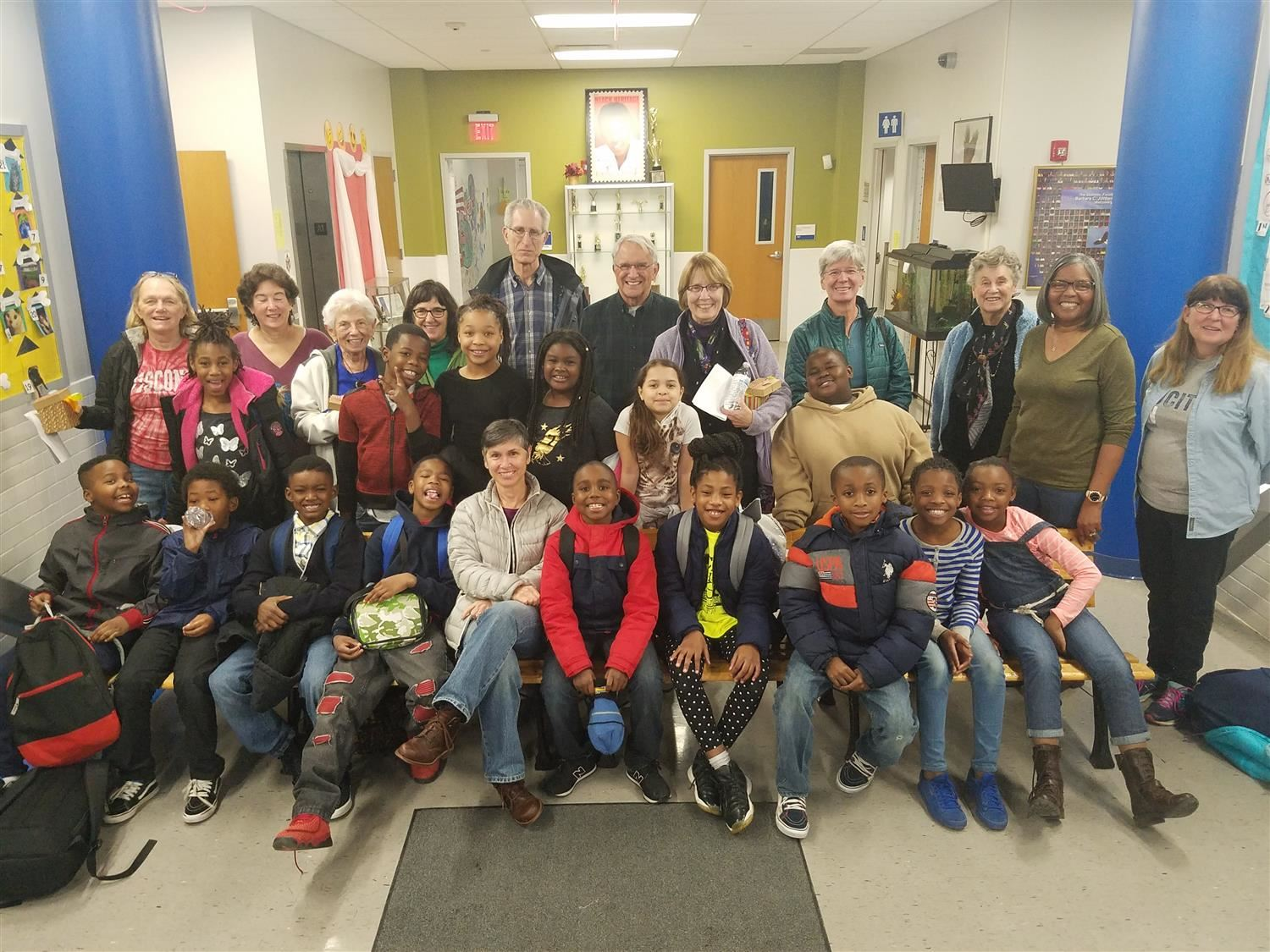 BCJ's Math Club Gives Thanks to Volunteers