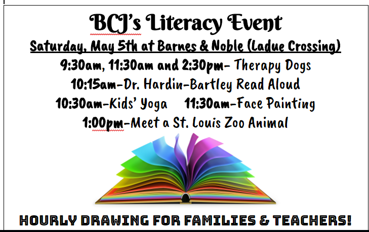 BCJ Literacy Event at Barnes & Noble